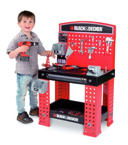 Kids Black & Decker Little Workman Smoby Workbench